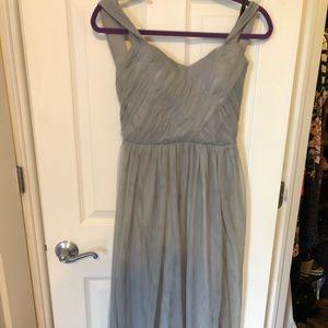 Brand new long, grey ASOS dress.